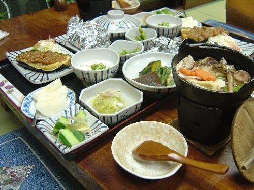きのこ鍋料理